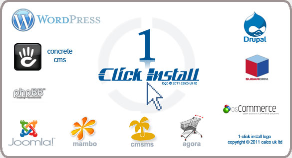 1 click install - logo copyright 2011 calco UK LTd all rights reserved