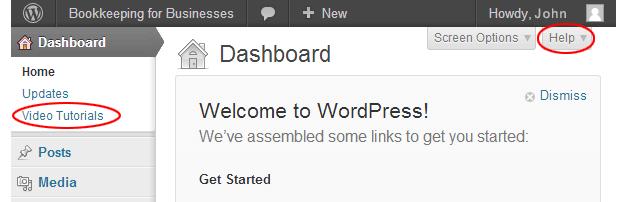 wordpress how to add media from serser