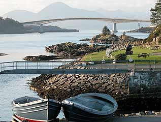 Kyle of Lochalsh and the Skye Bridge